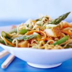 Pork & Noodle Salad