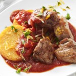 Pork Tenderloin with Polenta