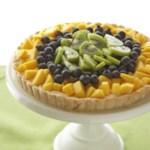 Mango-Blueberry Tart