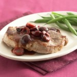 Pork Chops & Cherries