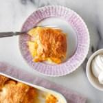 Easy Peach Cobbler Dump Cake