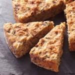 Roasted Garlic & Mushroom Batter Bread