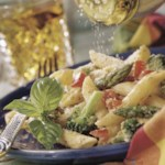 Pasta with Ricotta & Summer Vegetables