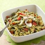 Tomato & Kale Pesto Pasta