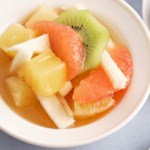 Fruit with Cider Sauce