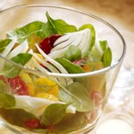Orange-Fennel Autumn Salad with Citrus-Yogurt Dressing