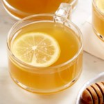 Warm Honey Green Tea