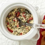 Roasted Red Pepper & Spinach Dip
