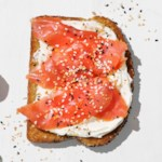 Smoked Salmon & Everything Bagel Toast