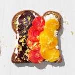 Beets & Goat Cheese Toast