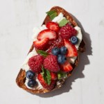 Mascarpone & Berries Toast