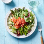 Asparagus Salad with Smoked Salmon & Meyer Lemon Vinaigrette