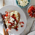 Greek Salad Baked Potatoes