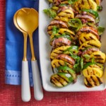 Grilled Eggplant & Summer Squash Salad