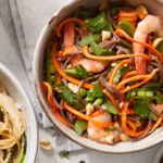 Thai-Inspired Peanut Shrimp Noodles
