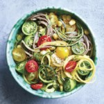 Summer Vegetable Sesame Noodles