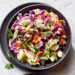 Grilled Coleslaw with Lemon-Herb Vinaigrette