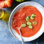 Summer Tomato Gazpacho