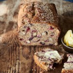 Spiced Tea Bread with Fresh Plums
