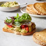 White Bean & Avocado Sandwich