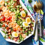 Shrimp Cobb Salad with Dijon Dressing