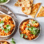 Cauliflower Tikka Masala with Chickpeas