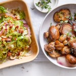 Madeira-Roasted Mushrooms & Shallots