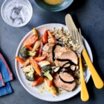 Italian Roasted Pork Tenderloin with Vegetables & Quinoa