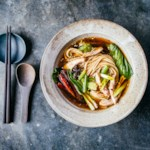 Slow-Cooker Sichuan Chicken with Scallions & Baby Bok Choy