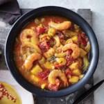 Slow-Cooker Manhattan-Style Shrimp Chowder
