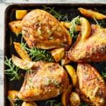 Sheet-Pan Lemon-Pepper Chicken
