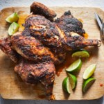 Spice-Rubbed Grilled Whole Chicken