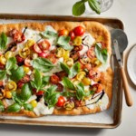 Sheet-Pan Caprese Pizza
