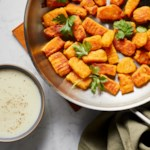 Butternut Squash Gnocchi with Fontina Cheese Sauce