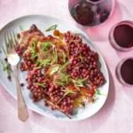 Chipotle-Glazed Roasted Pork Tenderloin & Grapes