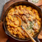 Gnocchi with Bacon & Creamy Pumpkin Sauce