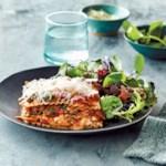Slow-Cooker Spinach & Mushroom Lasagna