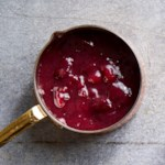 Cranberry-Red Wine Sauce