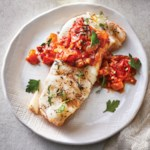 Slow-Cooker Cod with Tomato-Balsamic Jam