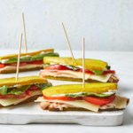 Pickle Sub Sandwiches with Turkey & Cheddar