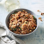Slow-Cooker Herb-Infused Wheat Berry Pilaf