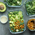 Brussels Sprouts Salad with Crunchy Chickpeas