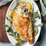 Herb-Roasted Turkey Breast with Garlic