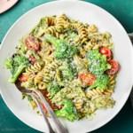 Turkey, Pesto & Broccoli Pasta