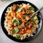 Slow-Cooker Indian Lamb & Butternut Squash Stew