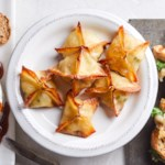 Crab Wontons with Brie