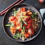 Slow-Cooker Sweet & Spicy Glazed Chicken