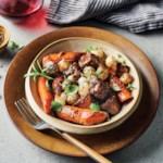 Slow-Cooker Herb & Mushroom Braised Beef