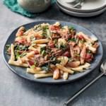 Slow-Cooker Pork Ragout over Casarecce Pasta