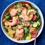 One-Pot Garlic-Shrimp Pasta